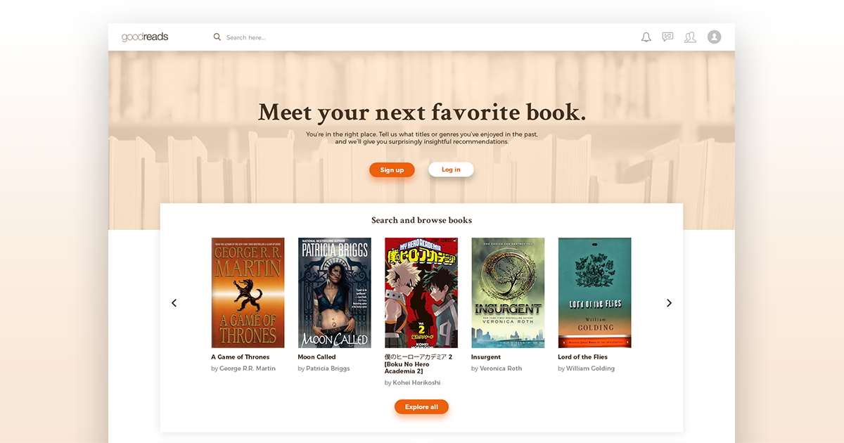 A new look for Goodreads