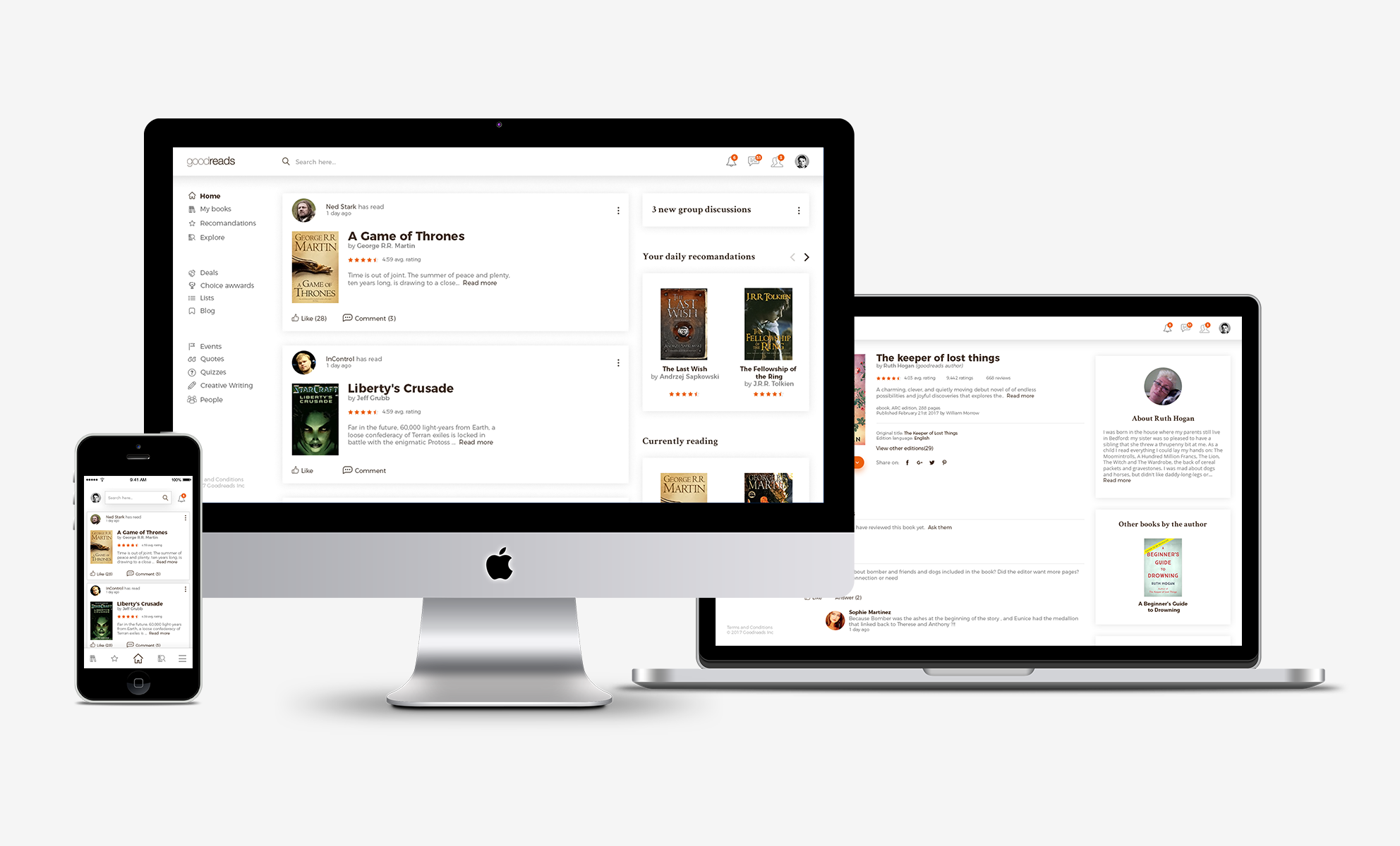 A new look for Goodreads | High Contrast