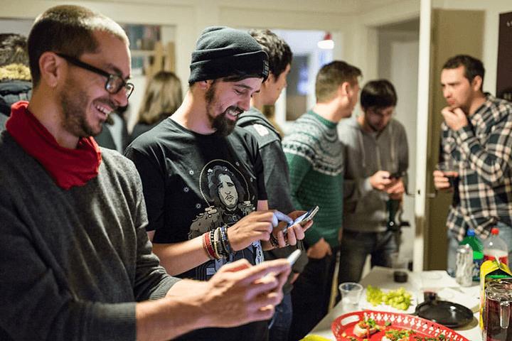 Geeks-at-parties