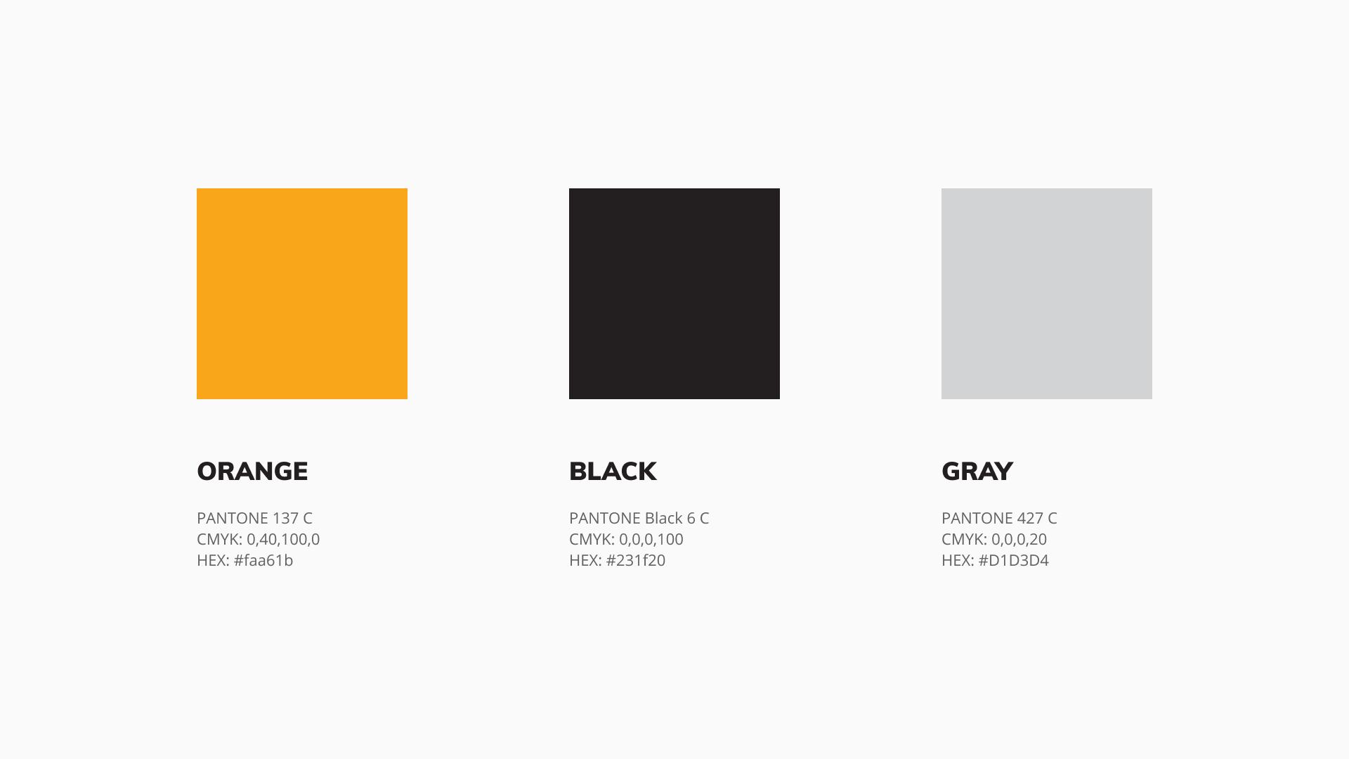 Main colors