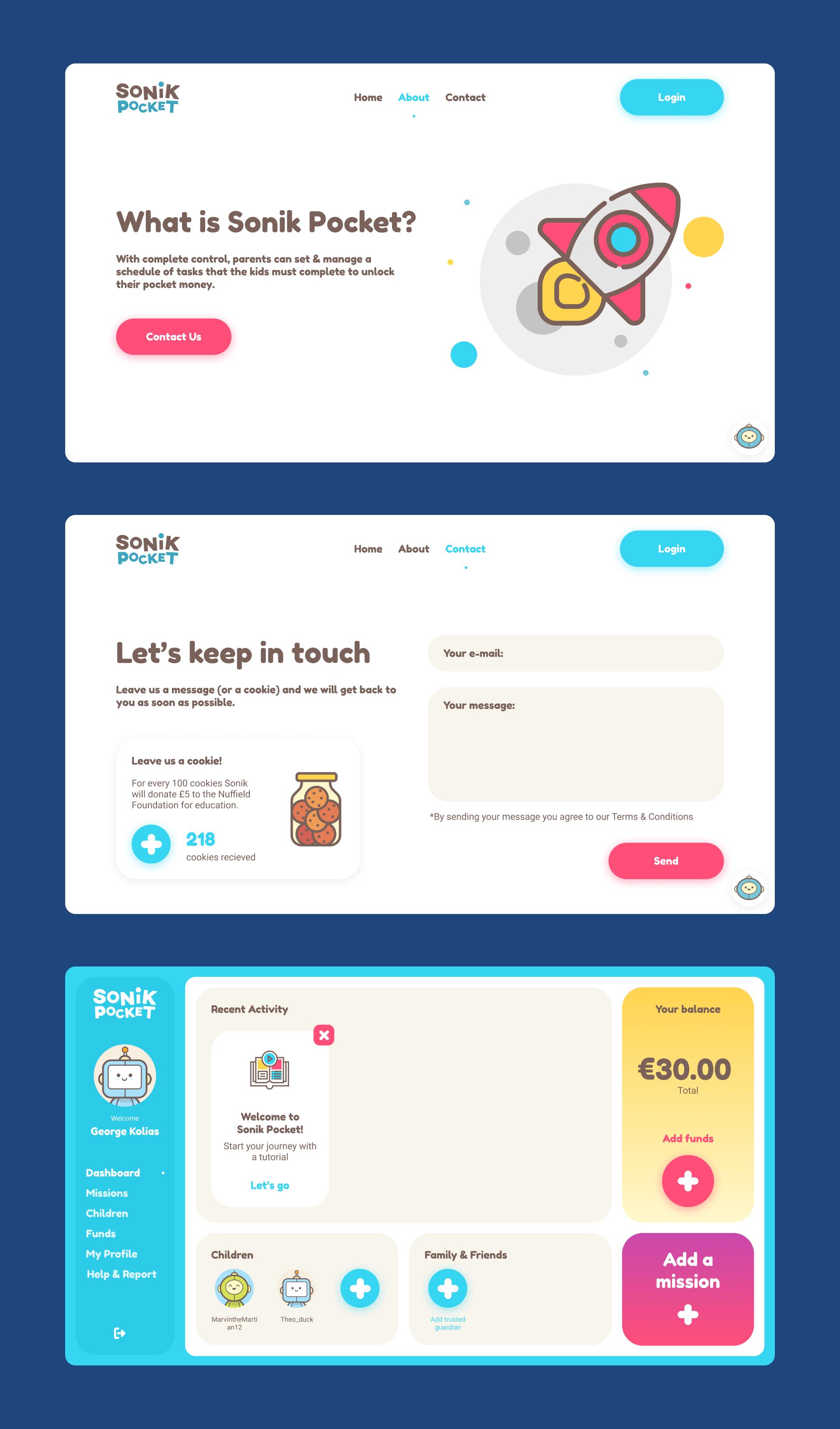 Sonik-Pocket-web-screens